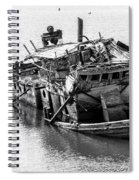 Mary D Hume Shipwreck - Rogue River Oregon Spiral Notebook