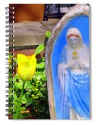 Mary In Springtime Spiral Notebook