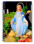 Mary In Sunlight Spiral Notebook