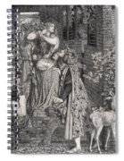 Mary Magdalene At The Door Of Simon Spiral Notebook