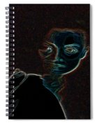 Mary Magdalene Sees The Empty Tomb Of Jesus Spiral Notebook