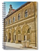 Mary Of Bistrica Shrine Architecture  Spiral Notebook