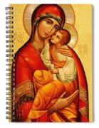 Mary The God Bearer Spiral Notebook