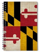 Maryland State Flag Spiral Notebook