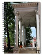 Maryland State House Columns Spiral Notebook
