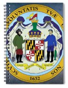 Maryland State Seal Spiral Notebook