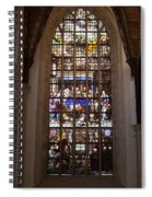 Mary's Deathbed Religious Art In Oude Kerk Spiral Notebook