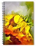 Marys Garden Spiral Notebook