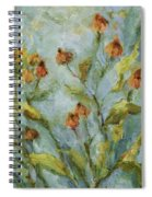 Mary's Garden Spiral Notebook