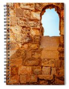 Masada Fortress Spiral Notebook