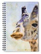 Masai Giraffe Spiral Notebook