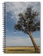 Masai Mara National Reserve Spiral Notebook