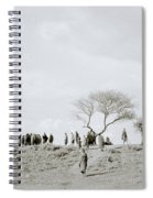 Iconic Africa Spiral Notebook