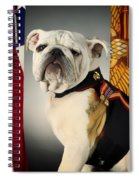 Mascot Of The United States Marine Corps Spiral Notebook