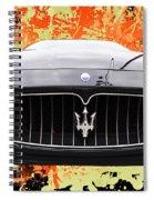Maserati Granturismo I V Spiral Notebook
