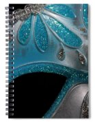 Mask 1 Spiral Notebook