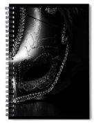 Mask Series 07 Spiral Notebook