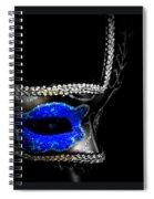 Mask Series 14 Spiral Notebook