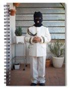 Masked First Communion Spiral Notebook