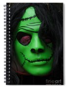 Masks Fright Night 4 Spiral Notebook