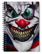 Masks Fright Night 6 Spiral Notebook