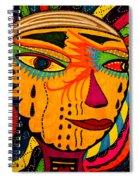 Masks We Wear - Face Spiral Notebook