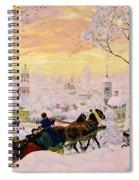 Maslenitsa Spiral Notebook