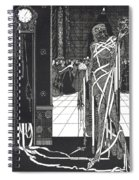 Masque Of The Red Death Spiral Notebook