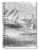 Massachusetts Lawrence Spiral Notebook