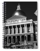 Massachusetts State House Spiral Notebook