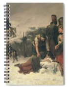 Massacre Of Glencoe, 1883-86 Spiral Notebook