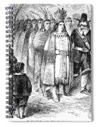 Massasoit (c1581-1661) Spiral Notebook