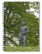 Massasoit Chief Of The Wampanoag Tribe Spiral Notebook