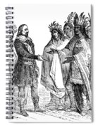 Massasoit Forges Treaty With Pilgrims Spiral Notebook