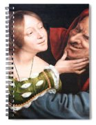 Massays' Ill Matched Lovers Or Badly Matched Lovers Spiral Notebook