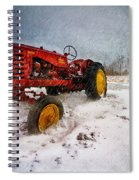 Massey Harris Mustang Spiral Notebook