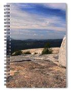 Massive Glacial Erratic Spiral Notebook