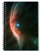 Massive Star Makes Waves Spiral Notebook