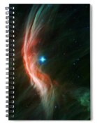 Massive Star Makes Waves Spiral Notebook