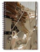 Mast Hoops Spiral Notebook