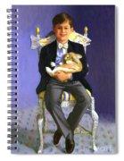 Master Alex With Flippy Spiral Notebook