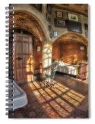 Master Bedroom At Fonthill Castle Spiral Notebook