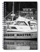 Master Of The Harbor Spiral Notebook