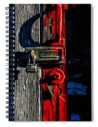 Master Of The Old Red Barn Spiral Notebook