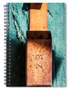 Match Box Spiral Notebook
