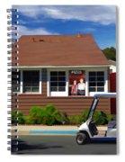 Matchless Retreat Spiral Notebook