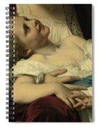 Maternal Affection Detail Spiral Notebook