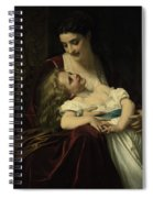 Maternal Affection Spiral Notebook