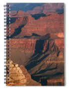 Mather Point At Sunrise On The Grand Canyon Spiral Notebook