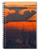 Mather Point Sunrise Grand Canyon National Park Spiral Notebook